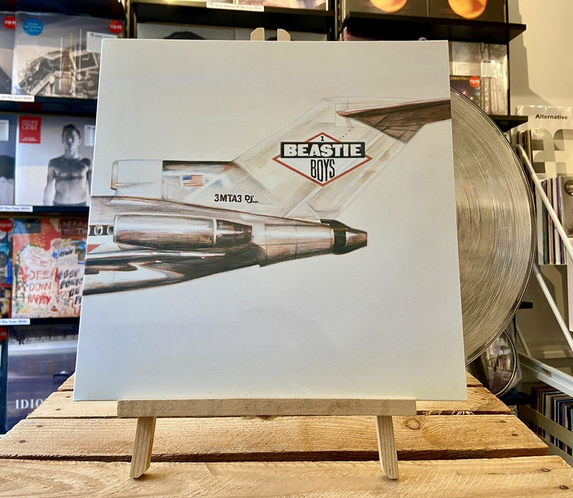 Beastie Boys - Licensed To Ill Vinyl LP Clear Colour 2020