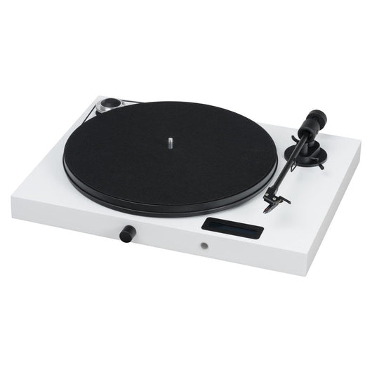 Pro-Ject Jukebox E Turntable (White)