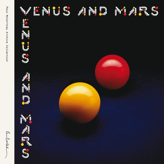 WINGS VENUS AND MARS LP VINYL 33RPM REMASTERED NEW