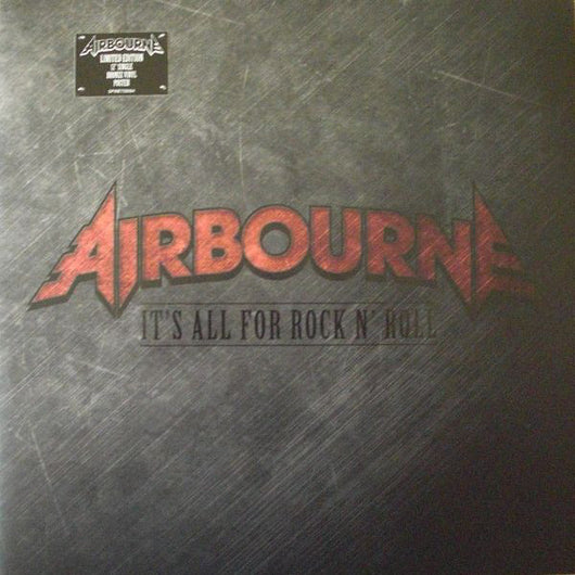 AIRBOURNE It's All For Rock N Roll LTD ED 12