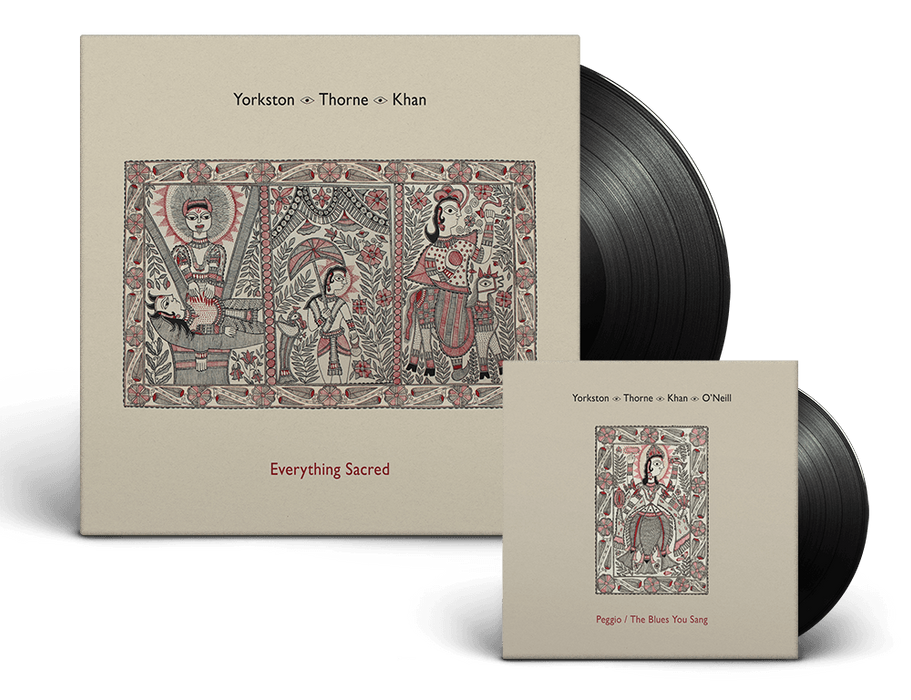 YORKSTON THORNE KHAN EVERYTHING SACRED LP VINYL & 7 INCH NEW 33RPM *Indies Only