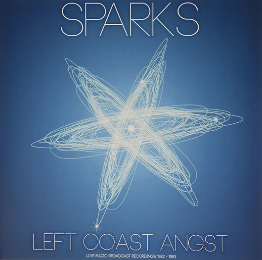 SPARKS Left Coast Angst LP Vinyl NEW Limited Edition CLEAR