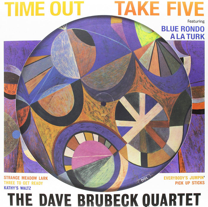Dave Brubeck Quartet Time Out Vinyl LP Pic Disc New 2017