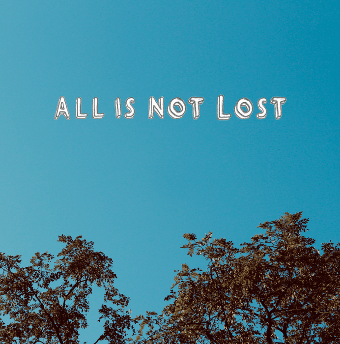 "All Is Not Lost - Laurie Cameron Francis Daulerio Jeff Zeigler Vinyl 12"" Single Limited 2020"