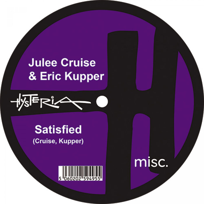 "Julee Cruise & Eric Kupper - My Blue Yonder / Satisfied 7"" Vinyl White Colour RSD Oct 2020"