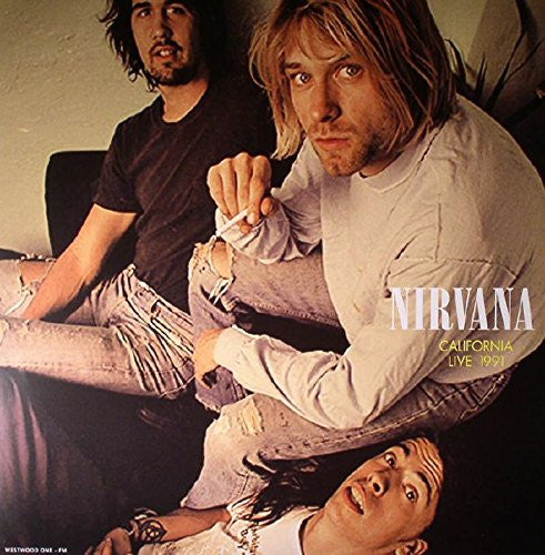 NIRVANA CALIFORNIA LIVE 1991 LP VINYL NEW 180GM 33RPM