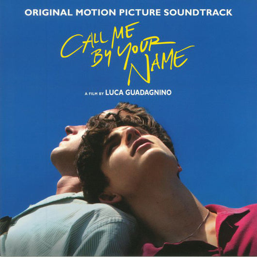 CALL ME BY YOUR NAME Soundtrack LP Vinyl NEW 2018