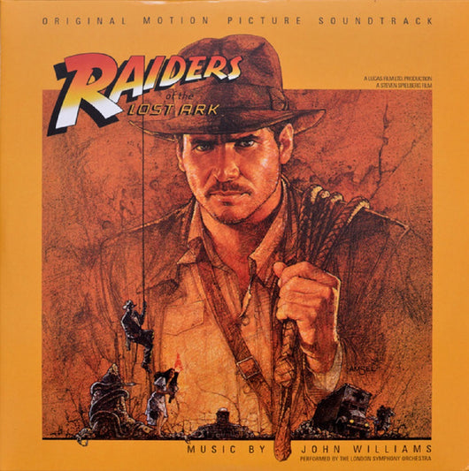 John Williams Indiana Jones film Raiders Of The Lost Ark Soundtrack Limited Grey Vinyl LP New 2017