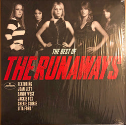 The Runaways - Best Of The Runaways Vinyl LP Colour Red/Clear Edition New 2018