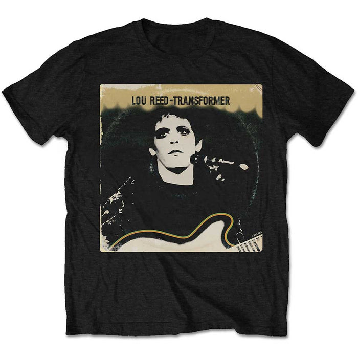 Lou Reed Transformer Vintage Cover Black Small Unisex T-Shirt