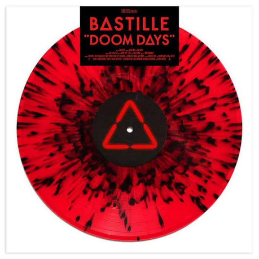 Bastille Doom Days Indies Black & Red Splatter Vinyl LP New 2019