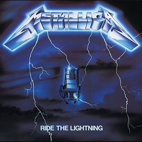 METALLICA RIDE THE LIGHTNING LP VINYL NEW 33RPM 180GM REISSUE