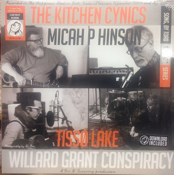 THE KITCHEN CYNICS Willard Grant Conspiracy LP Vinyl NEW 2017