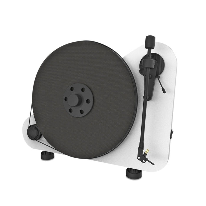 PRO-JECT VTE-R Vertical Wall Mountable MATT WHITE TURNTABLE NEW OFFICIAL