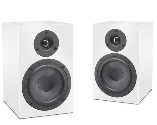 Pro-Ject Speaker Box 5 Gloss White Passive Bookshelf Speakers (Pair)