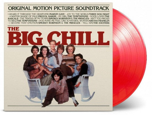 BIG CHILL ORIGINAL SOUNDTRACK LP VINYL NEW 33RPM LIMITED RED