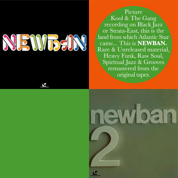 NEWBAN NEWBAN AND NEWBAN 2 LP VINYL JAZZ SOUL FUNK NEW 33RPM