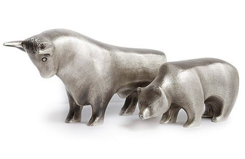 Buy Sterling Silver Bull and Bear .925