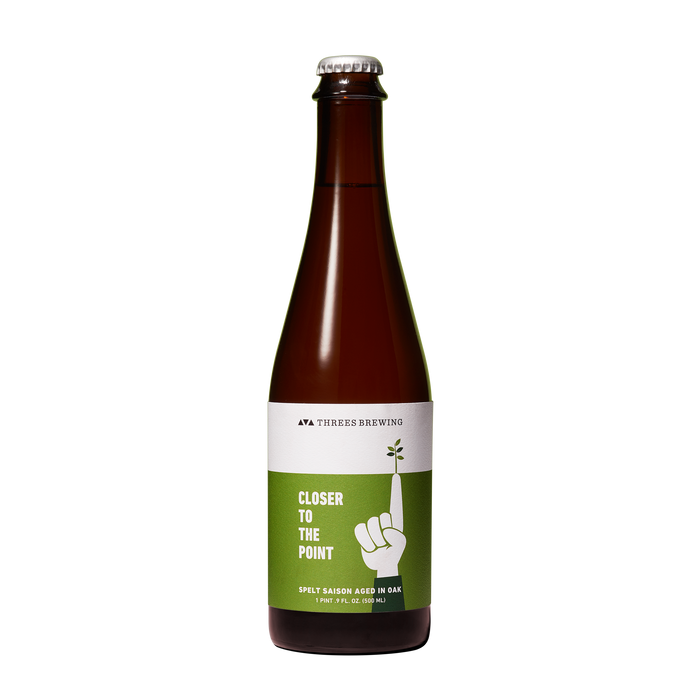 Closer To The Point 500ml (Spelt Saison Aged In Oak)