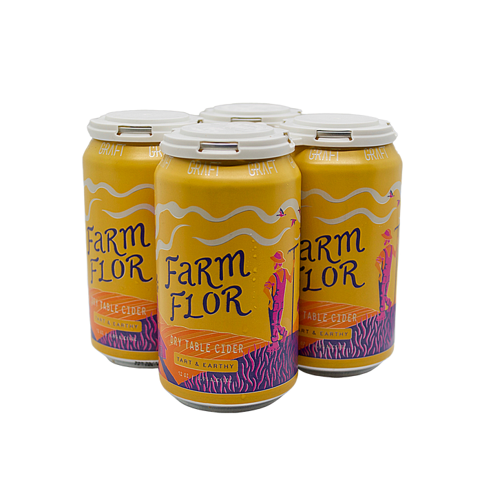Graft Farm Flor 4-Pack (Rustic Table Cider)