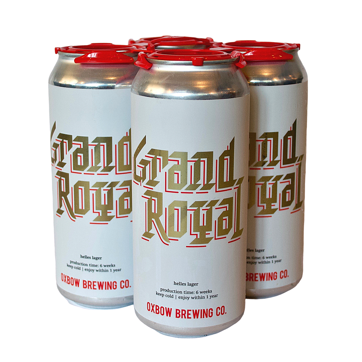 Oxbow Grand Royal 4-Pack <br> Helles Lager