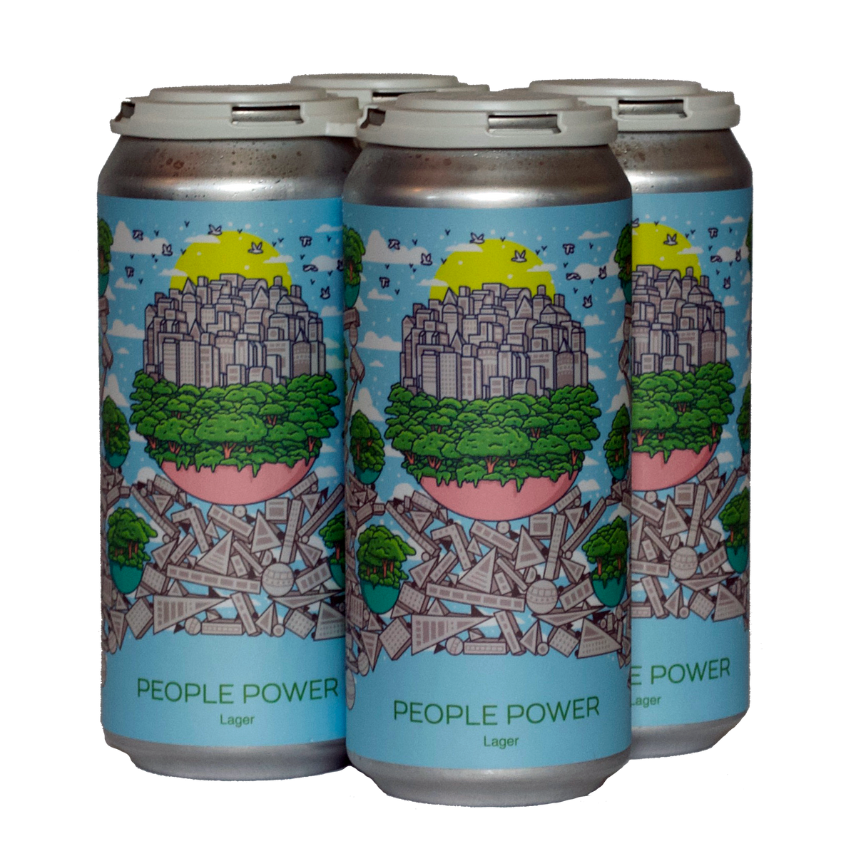 Hudson Valley People Power 4-Pack <br> Lager