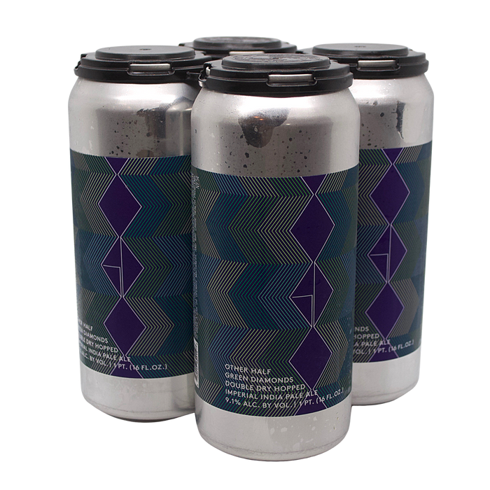 Other Half DDH Green Diamonds 4-Pack (Imperial IPA) (Max Two Per Order)