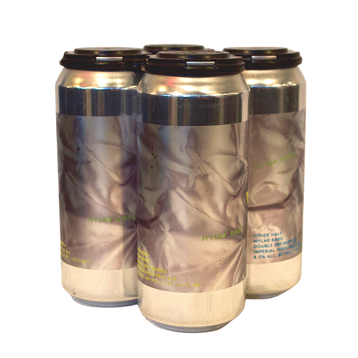 Other Half DDH Mylar Bags 4-Pack (Imperial IPA) (Max Two Per Order)