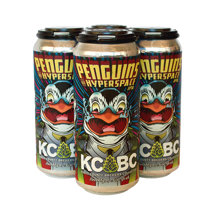KCBC Penguins In Hyperspace 4-Pack <br> Session IPA