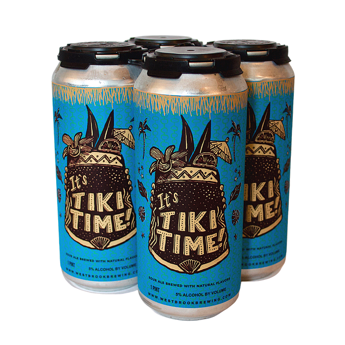 Westbrook It's Tiki Time 4-Pack <br> Fruited Sour