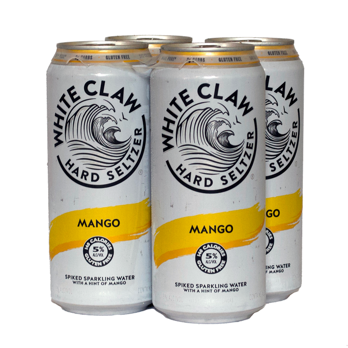 White Claw Mango 4-Pack (Hard Seltzer)