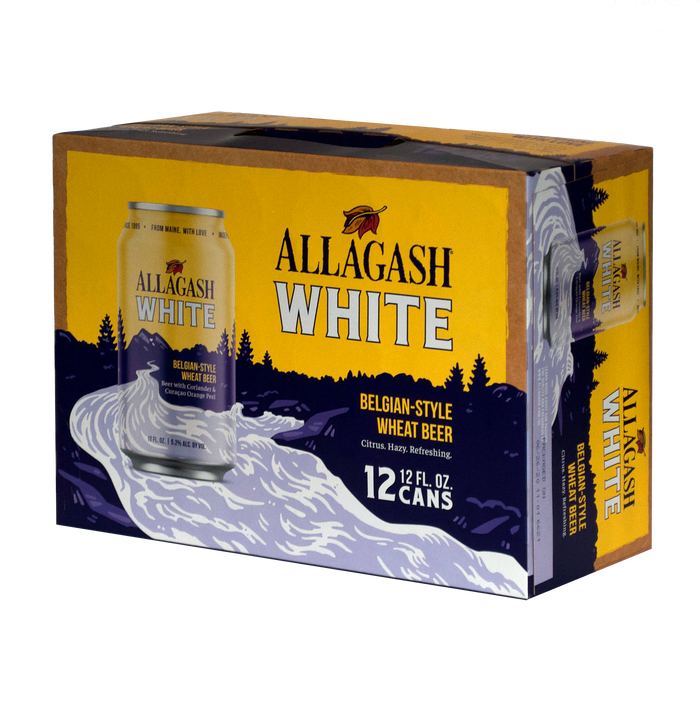 Allagash White 12-Pack <br> Belgian Wit