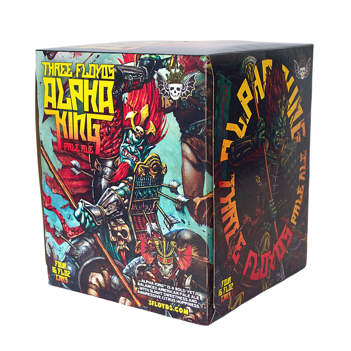 3 Floyds Alpha King 4-Pack (Pale Ale)