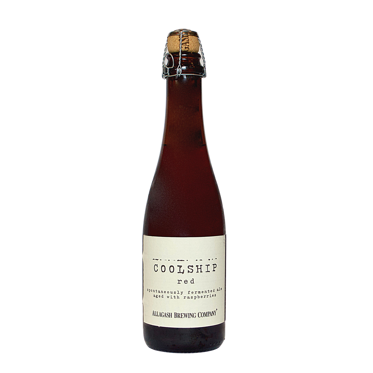 Allagash Coolship Red 375ml Bottle (Ale Aged in Oak Barrels on Raspberries)