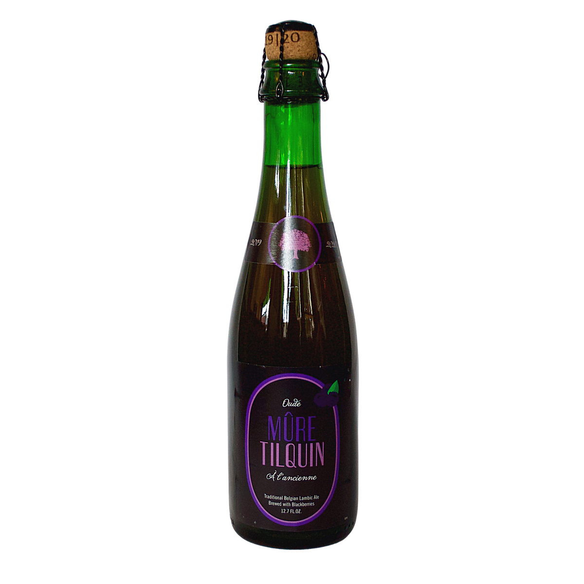 Gueuzerie Tilquin Oude Mure 2020 12.7oz Bottle <br> Blackberry Lambic <br> (Limit 2 Per Order)