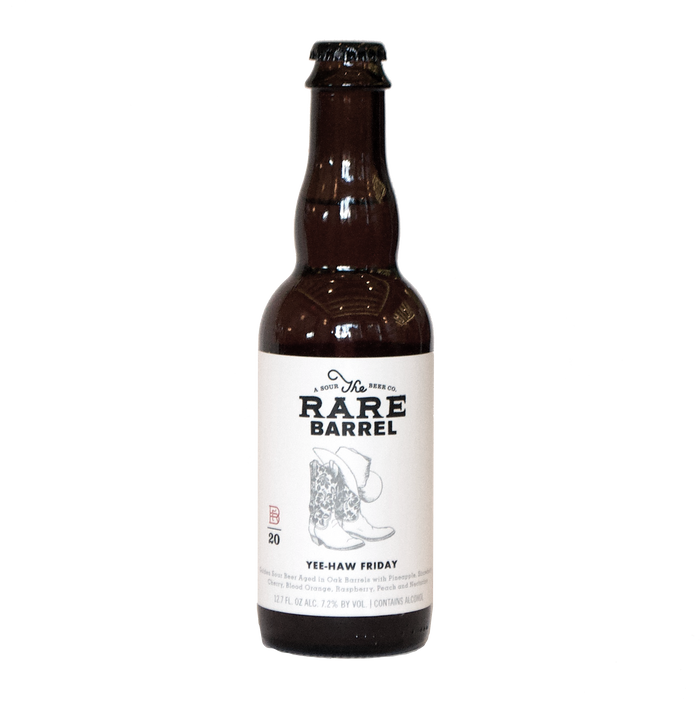 The Rare Barrel Yee-Haw Friday 375ml Bottle (Golden Sour)