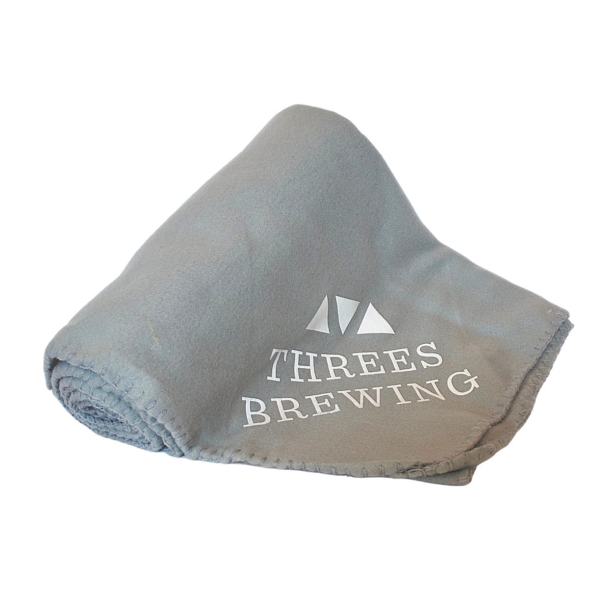 Fleece Blanket - Threes Brewing Logo