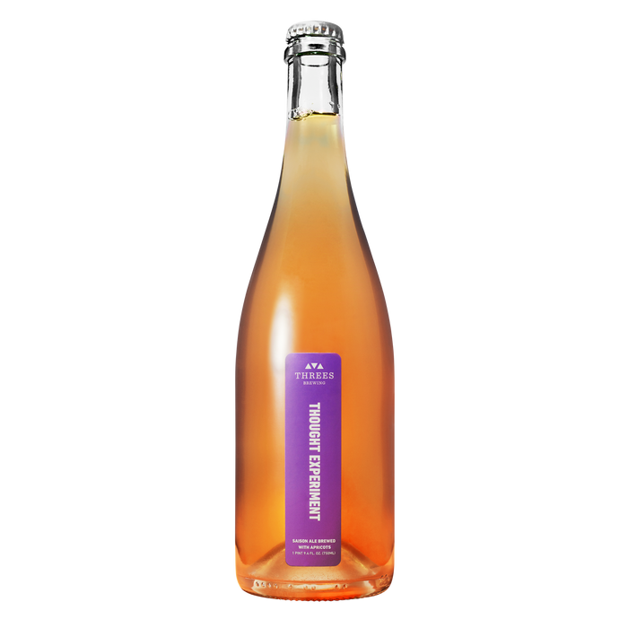 Thought Experiment Apricot 750ml (Saison Ale)