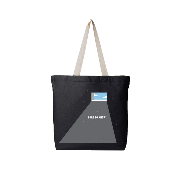 Dare to Know - Canvas Tote