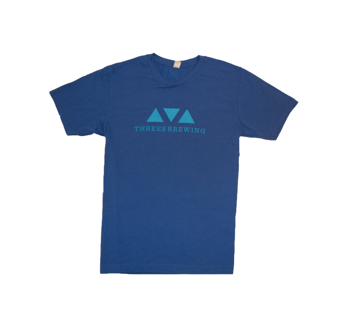 Triangle Logo Tee (Blue)