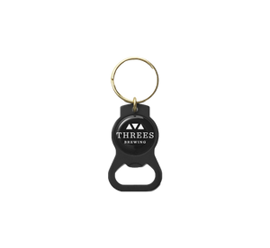 Keychain Bottle Opener - Threes Logo Design