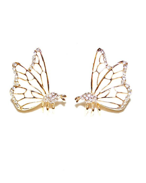 Ying Cai Butterfly Earring