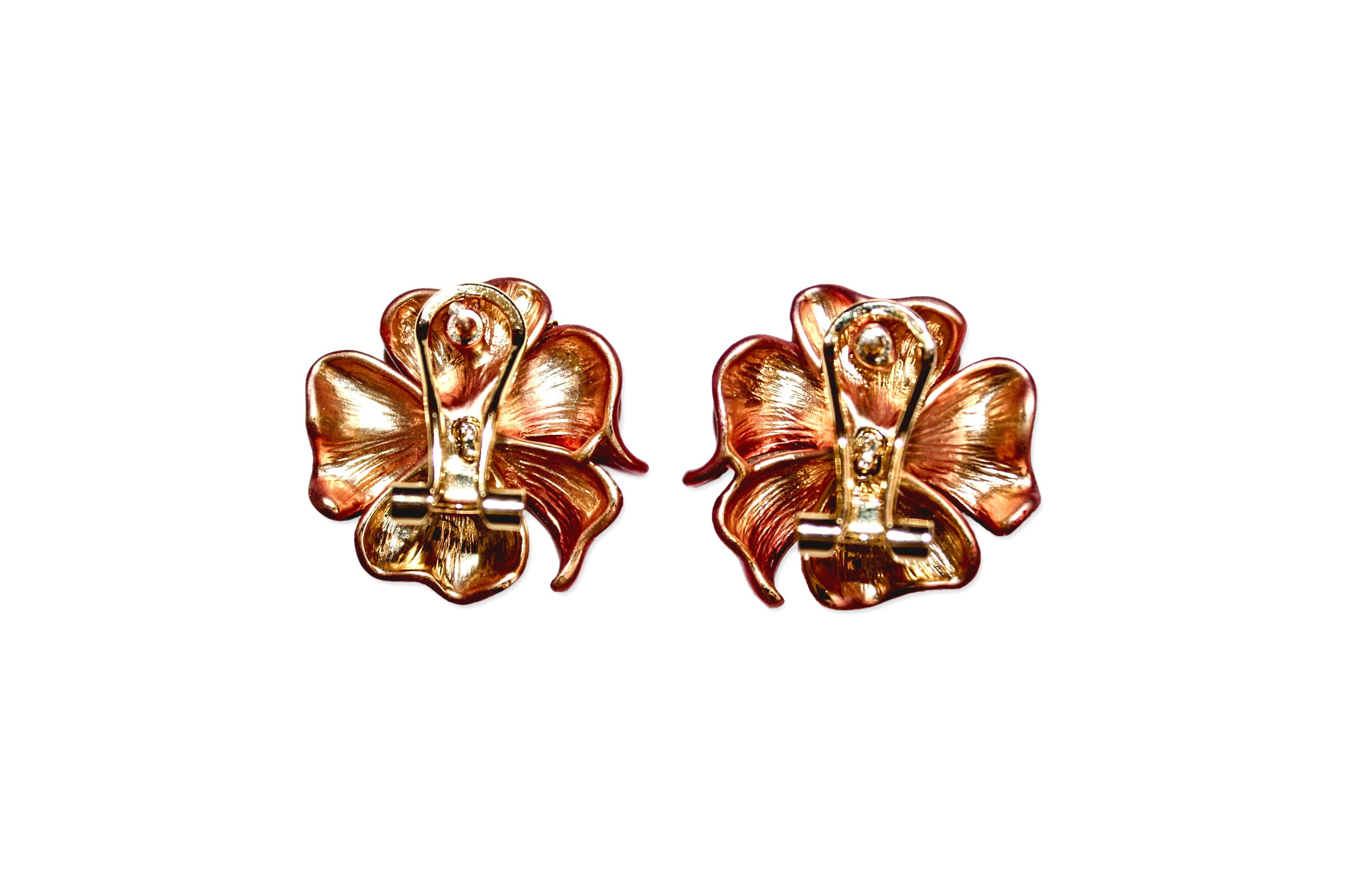 Ying Cai _ Flower earrings