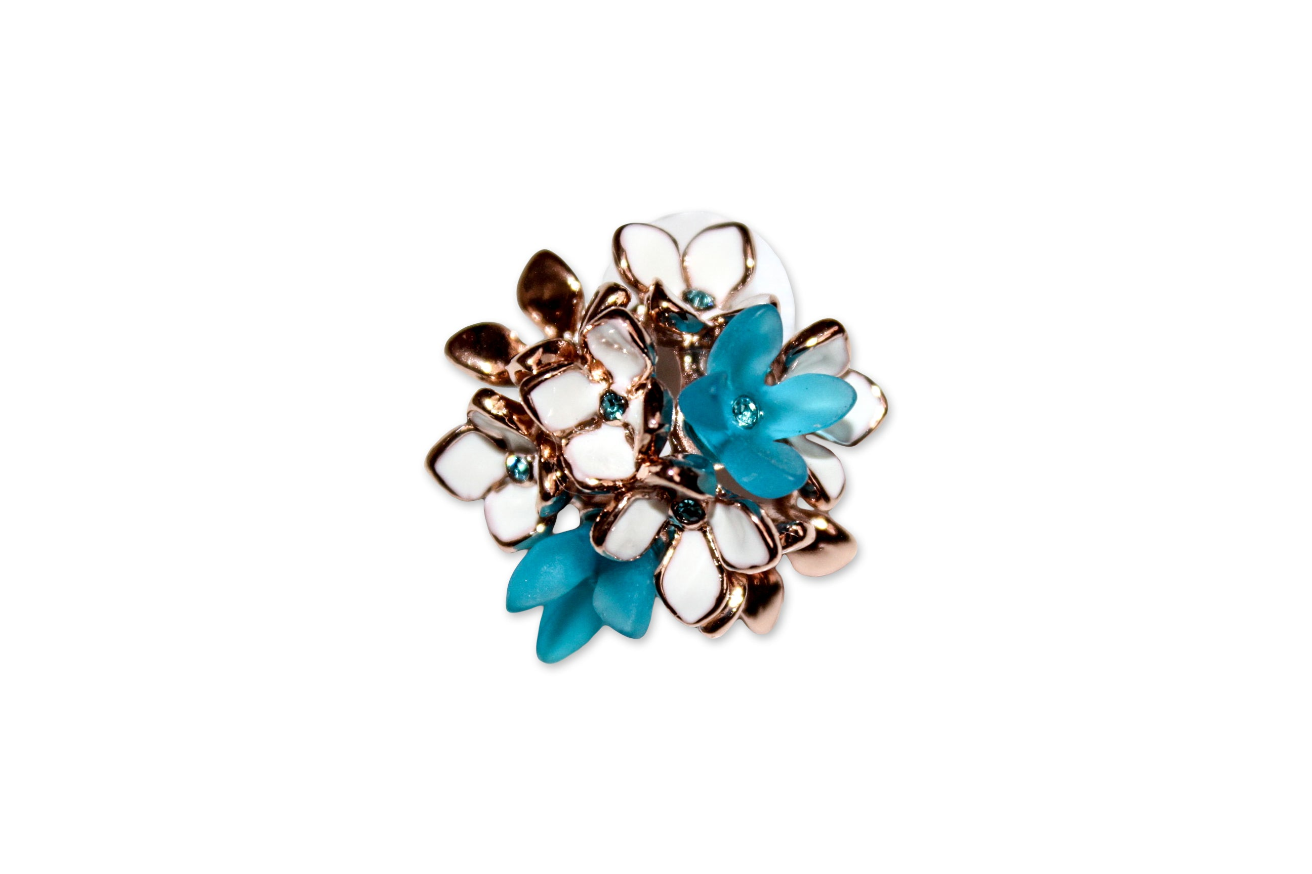Ying Cai _ Flower earrings 2