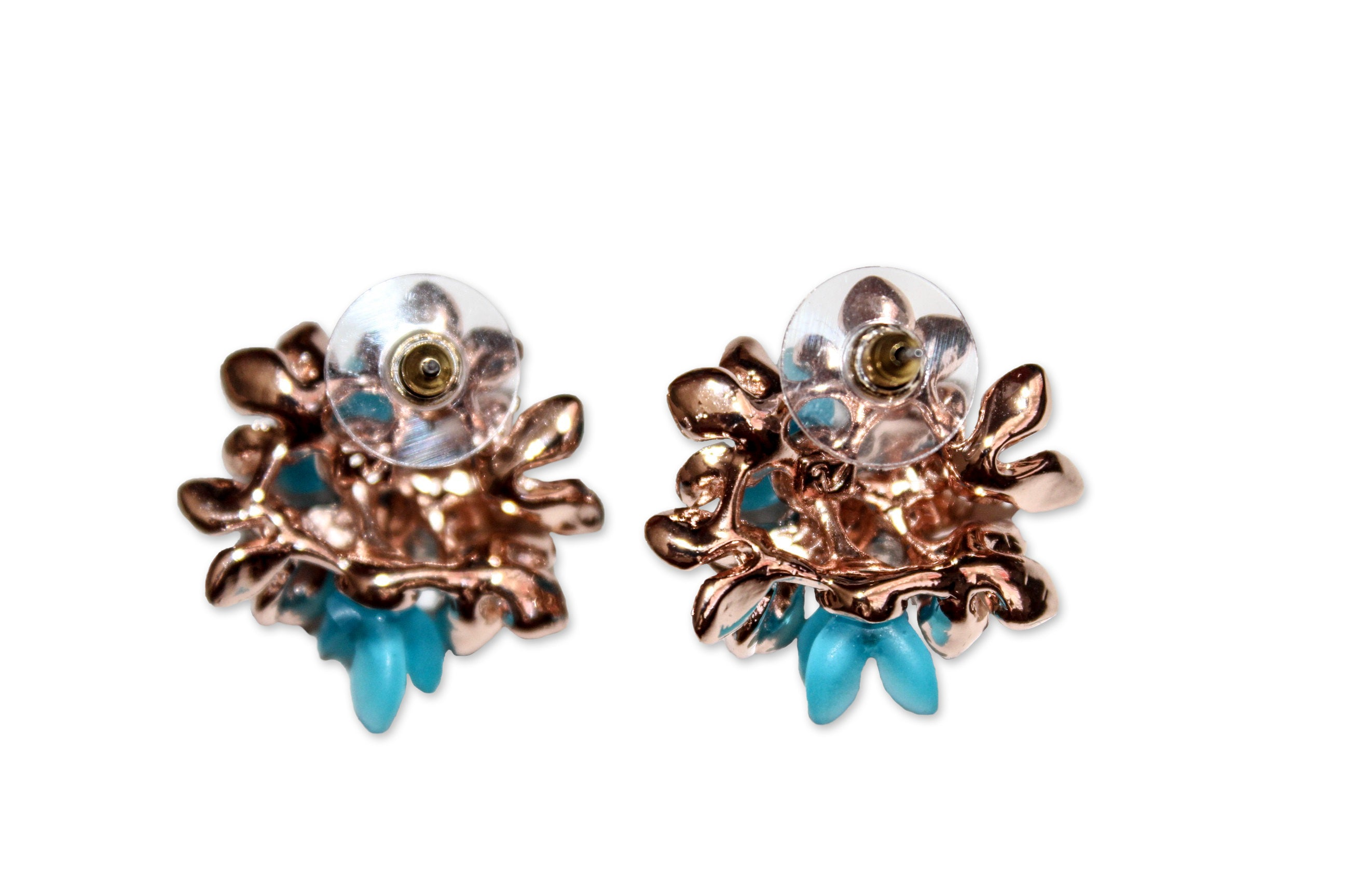 Ying Cai _ Flower earrings 3