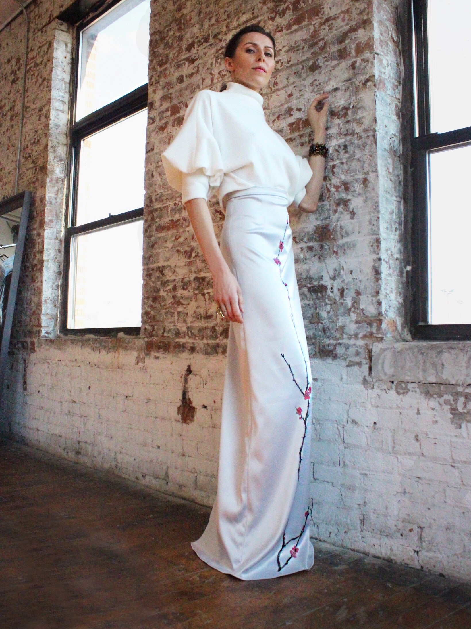 Ying Cai _ AW20 Look 10 Skirt 1