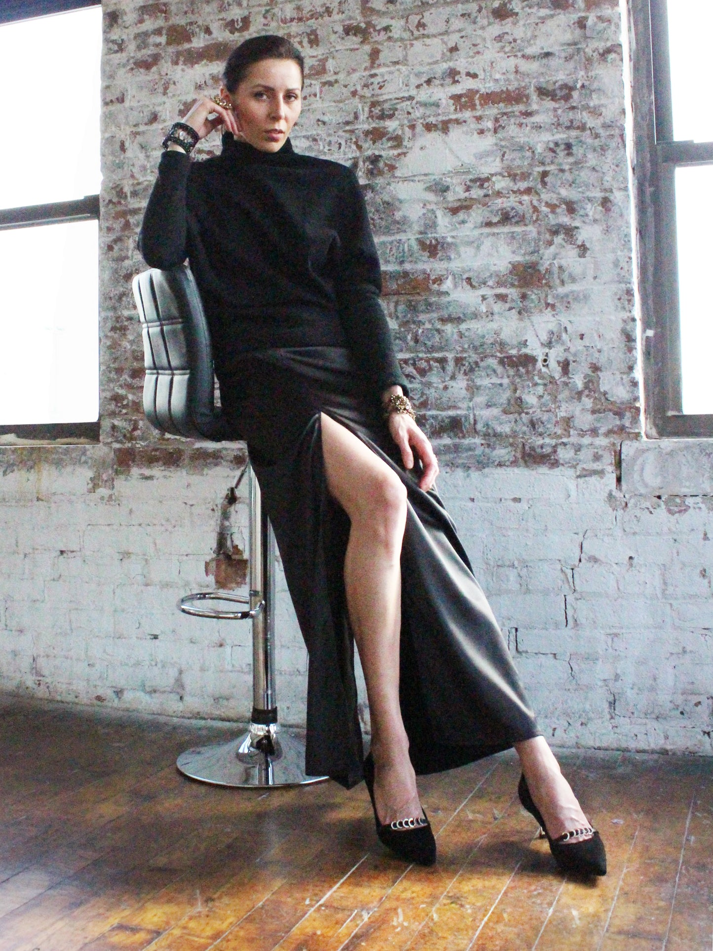 Ying Cai _ AW20 Look 2 Skirt 3