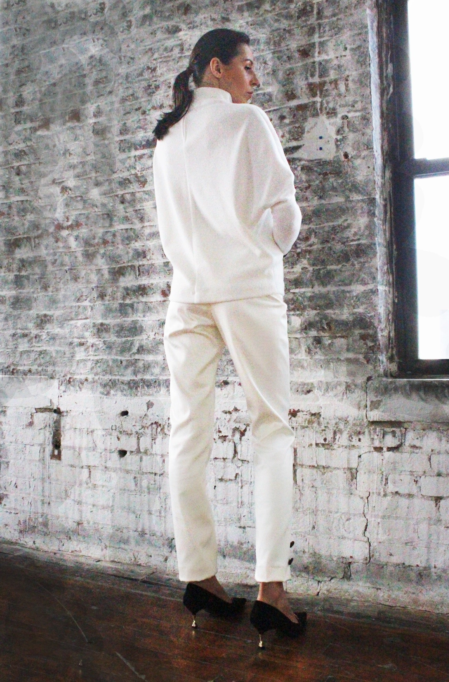 Ying Cai _ AW20 Look 3 Sweater 5