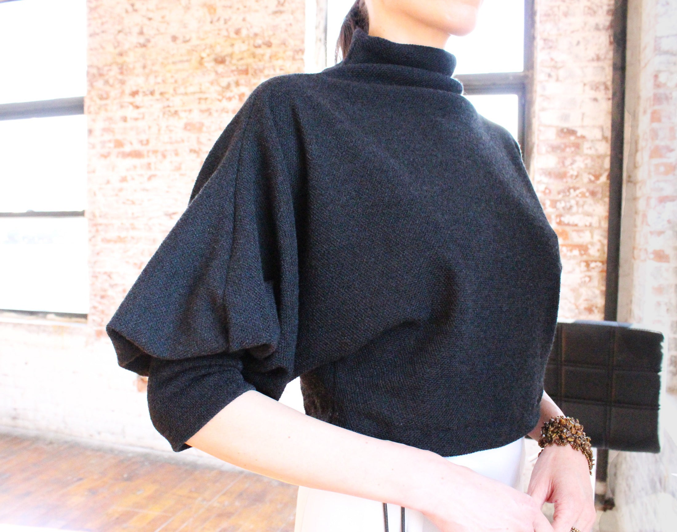 Ying Cai _ AW20 Look 9 Sweater 4