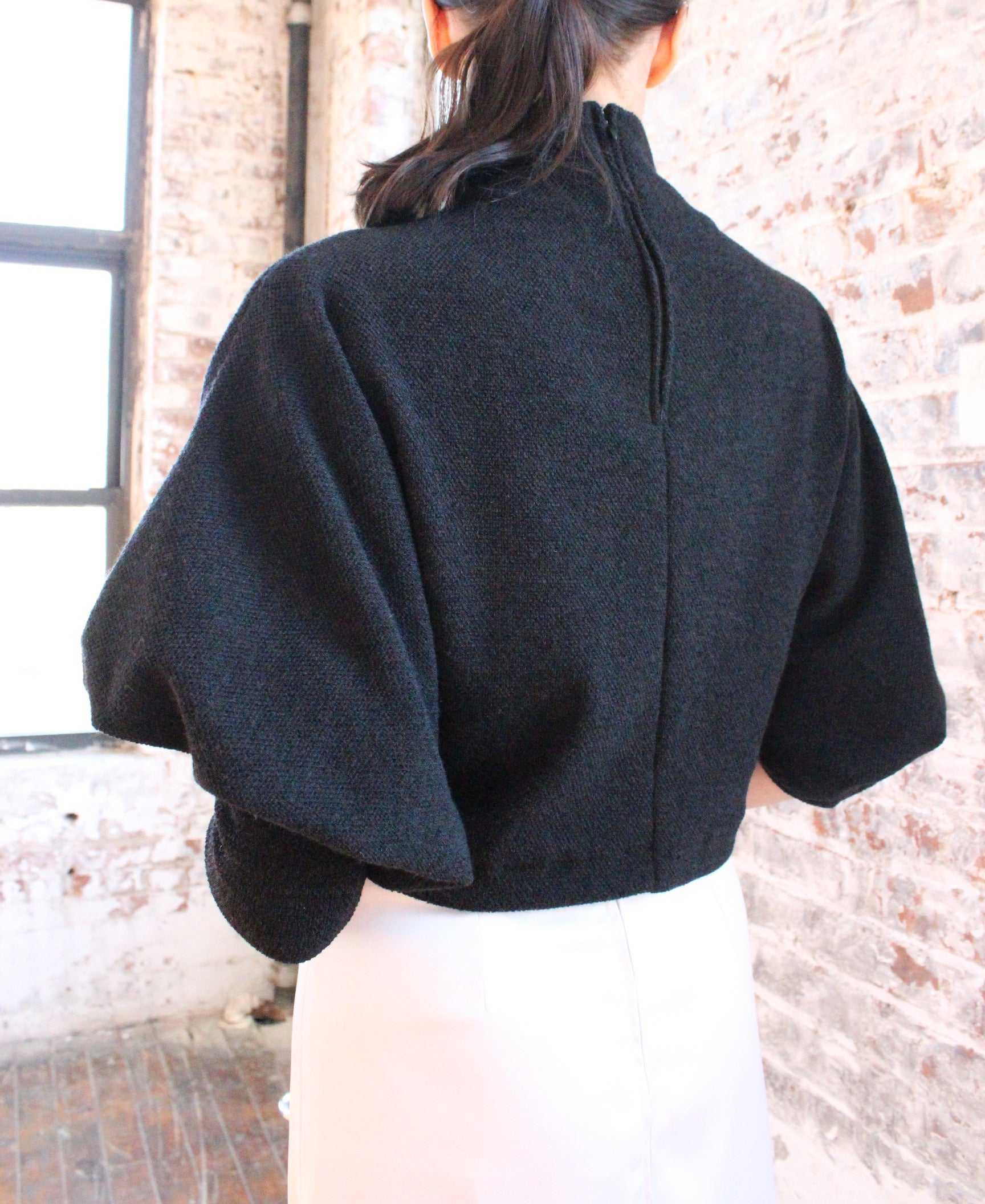 Ying Cai _ AW20 Look 9 Sweater 6